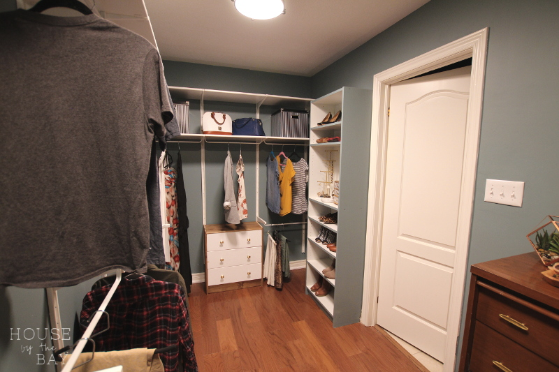 Master Bedroom Walk-Through Closet Reveal