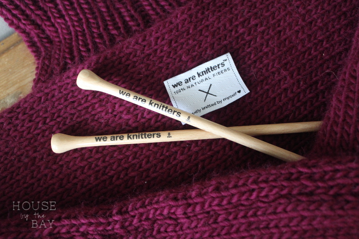 We are Knitters Kide Sweater Kit Review & Giveaway