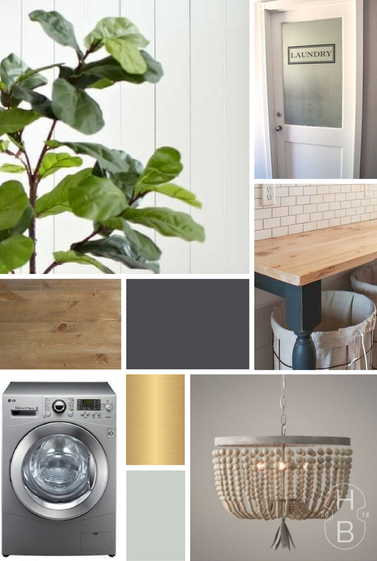 My $100 Room Challenge: Makeover Our Laundry Room!