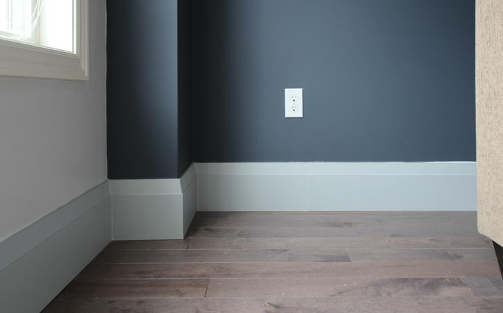 One Room Challenge Week Three: Ice Storms, Floors and Baseboards