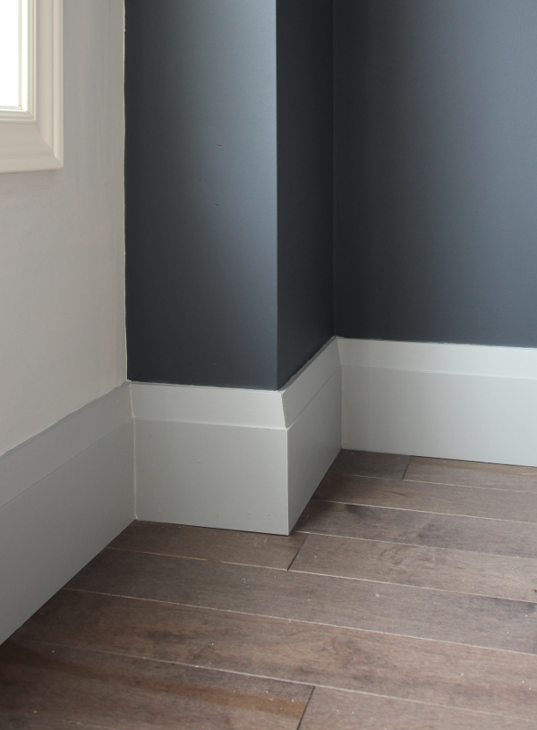 New Very Square Baseboards from Metrie | Main Floor Renovation | House by the Bay Design