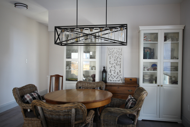 Dining Table & China Cabinets | Kitchen Makeover Reveal | House by the Bay Design