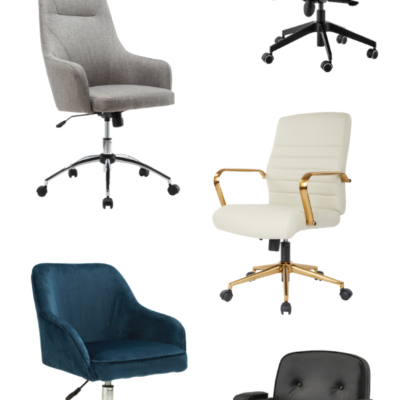 5 Attractive and Affordable Home Office Desk Chairs